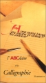 """Afficher """"L'ABCdaire de la calligraphie"""""""