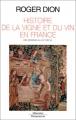 """Afficher """"Histoire de la vigne et du vin en France"""""""