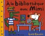 vignette de 'A la bibliothèque avec Mimi (Cousins, Lucy)'