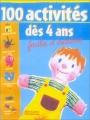 """Afficher """"100 activités dès 4 ans"""""""
