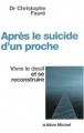 """Afficher """"Après le suicide d'un proche"""""""