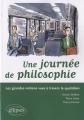 """Afficher """"Une journée de philosophie"""""""