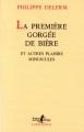 vignette de 'Première gorgée de bière (La) (Philippe Delerm)'