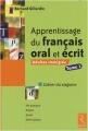 """Afficher """"Apprentissage du français oral et écrit n° 1 Apprentissage du français oral et écrit"""""""