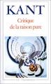 """Afficher """"Critique de la Raison pure"""""""
