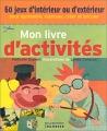 """Afficher """"Mon livre d'activités"""""""