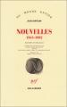"""Afficher """"Nouvelles 1945-1982"""""""