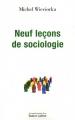 "Afficher ""Neuf leçons de sociologie"""
