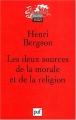 """Afficher """"Les deux sources de la morale et de la religion"""""""