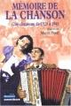 """Afficher """"Mémoire de la chanson n° 02"""""""