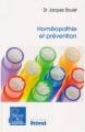 """Afficher """"Homéopathie et prévention"""""""