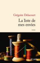 vignette de 'La liste de mes envies (Grégoire DELACOURT)'