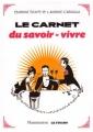 """Afficher """"Le carnet du savoir-vivre"""""""
