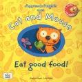 """Afficher """"J'apprends l'anglais avec Cat and Mouse<br /> Eat good food !"""""""