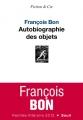"""Afficher """"Autobiographie des objets"""""""