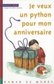 """Afficher """"Je veux un python pour mon anniversaire"""""""