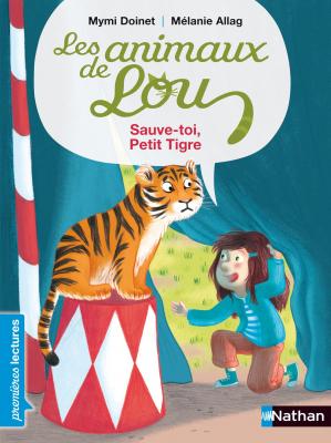 """Afficher """"Les animaux de Lou Sauve-toi, Petit Tigre !"""""""