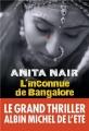 vignette de 'L'inconnue de Bangalore (Anita Nair)'