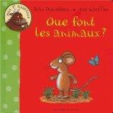 """Afficher """"Mon 1er Gruffalo Que font les animaux ?"""""""