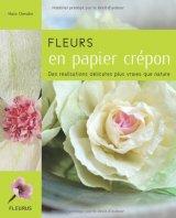 """Afficher """"Fleurs en papier crépon"""""""