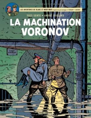 "Afficher ""Les aventures de Blake et Mortimer n° 14 La machination Voronov"""