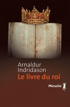 vignette de 'Le livre du roi (Arnaldur Indridason)'