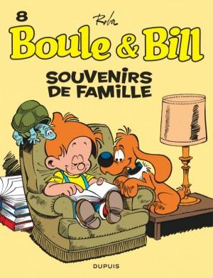 """Afficher """"Boule & Bill n° 8 Souvenirs de famille"""""""