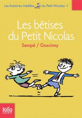 """Afficher """"Histoires inédites du petit Nicolas (Les) n° 1 Les bêtises du petit Nicolas"""""""