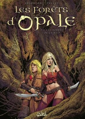 """Afficher """"Les Forêts d'Opale n° 08<br /> Les hordes de la nuit"""""""