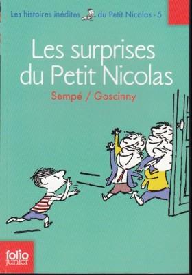 """Afficher """"Les histoires inédites du petit Nicolas n° 5 Les surprises du petit Nicolas"""""""