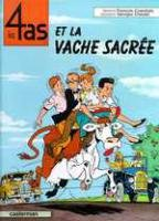 """Afficher """"Les 4 as et la vacjhe sacrée"""""""