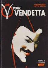 """Afficher """"V pour vendetta n° 1 Visages"""""""