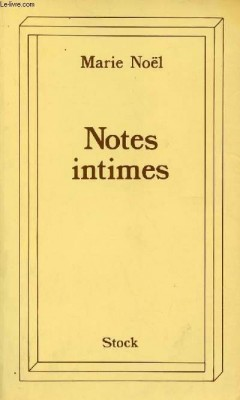 """Afficher """"Notes intimes"""""""