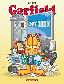 """Afficher """"Garfield n° 59 Chat geek"""""""