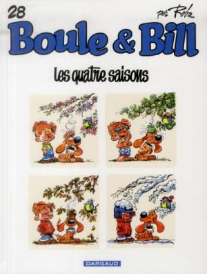 """Afficher """"Boule et Bill n° 28Les quatre saisons"""""""