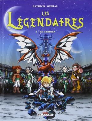 """Afficher """"Les légendaires n° 2 Le gardien"""""""