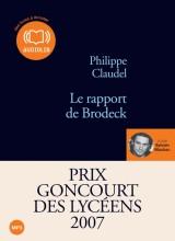 """Afficher """"Le rapport de Brodeck"""""""