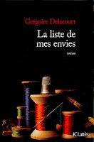 vignette de 'Liste de mes envies (La) (Grégoire Delacourt)'