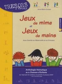 """Afficher """"Trésors d'enfance<br /> Jeux de mime et jeux de mains"""""""