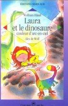 """Afficher """"Laura et le dinosaure couleur d'arc-en-ciel"""""""