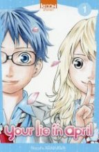"Afficher ""Your lie in april - série en cours n° 1<br /> Your lie in April"""