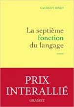 """Afficher """"La septième fonction du langage"""""""