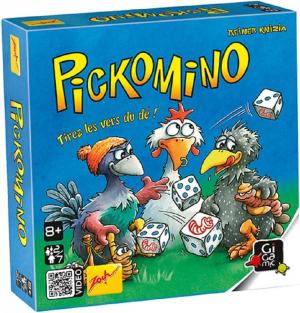 Couverture de Pickomino : Tirez les vers du dé !
