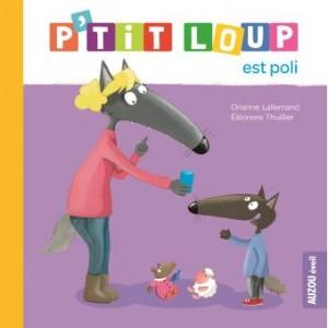 """Afficher """"P'tit Loup P'tit Loup est poli"""""""