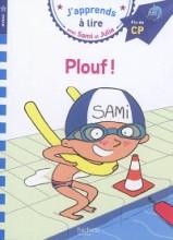 """Afficher """"J'apprends à lire avec Sami et Julie<br /> Plouf !"""""""