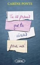 vignette de 'Tu as promis que tu vivrais pour moi (Carène Ponte)'