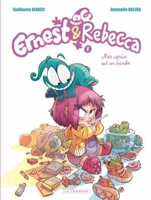 Ernest et Rebecca n° 1<br />Mon copain est un microbe