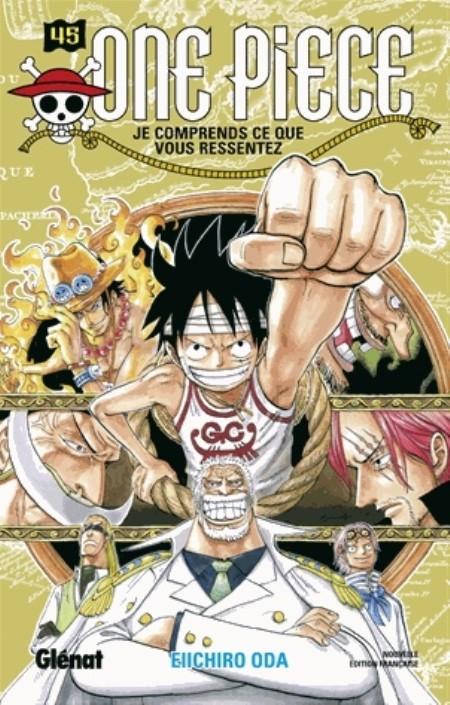 One Piece n° 45 Je comprends ce que tu ressens