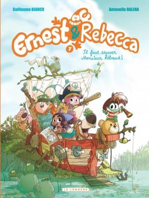 """Afficher """"Ernest & Rebecca n° 7Il faut sauver monsieur Rébaud !"""""""