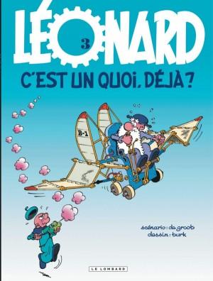 """Afficher """"Léonard n° Tome 3 Léonard, c'est un quoi, déjà ?"""""""